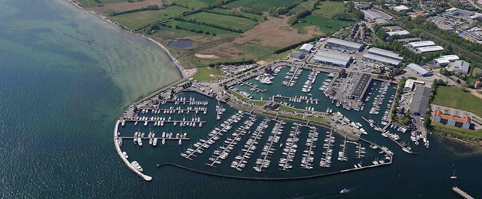 Luftaufnahme Marina Ancora