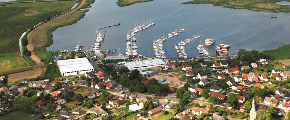 Luftaufnahme Marina Kröslin