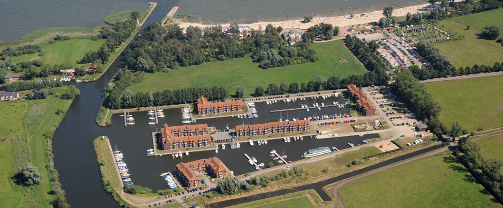 Luftaufnahme Marina Ueckermünde